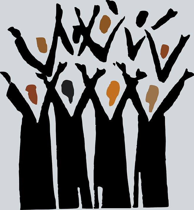 Happy choir