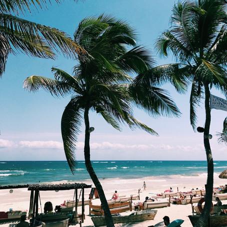 TULUM BEACH DAY AT LA ZEBRA HOTEL