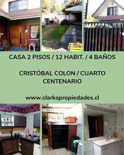 Casa Arriendo Cristobal Colon