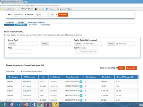¿Qué es el Registro de Compras y Ventas (RCV)?