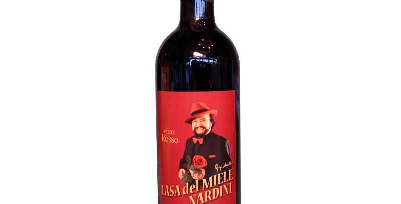 Vino rosso bottiglia 750 ml