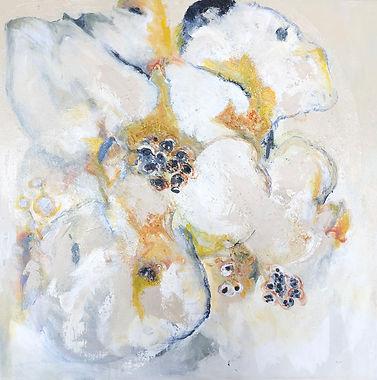 Indian Yellow_20x20_acrylic on canvas_20