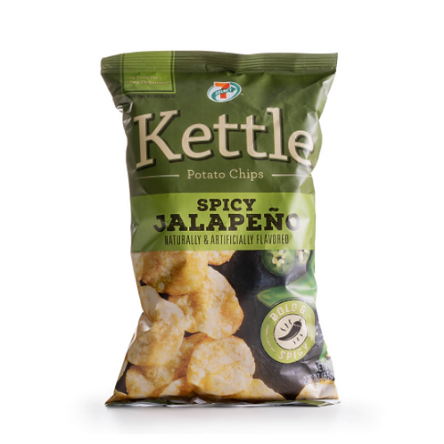 7-Select Kettle Chips Spicy Jalapeno
