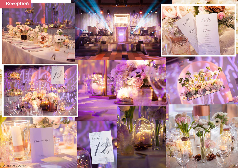 Promise Magazine: Event Design by JustSeventy