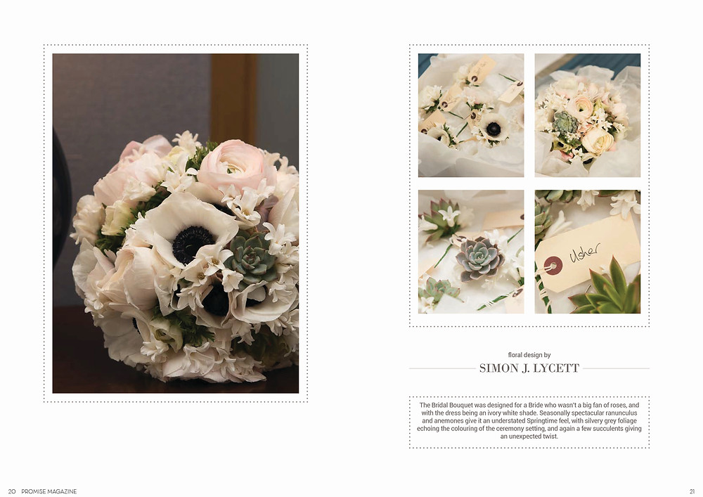 Promise Magazine: Flowers by Simon Lycett