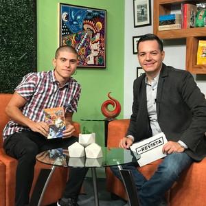 Entrevista en 10TV Nayarit (México)