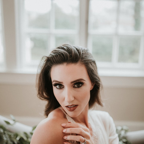 Bridal Boudoir Style Shoot