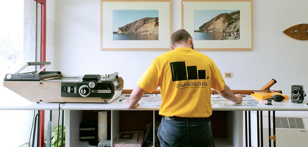 Luca Mugellesi, workshop stampa fotografica
