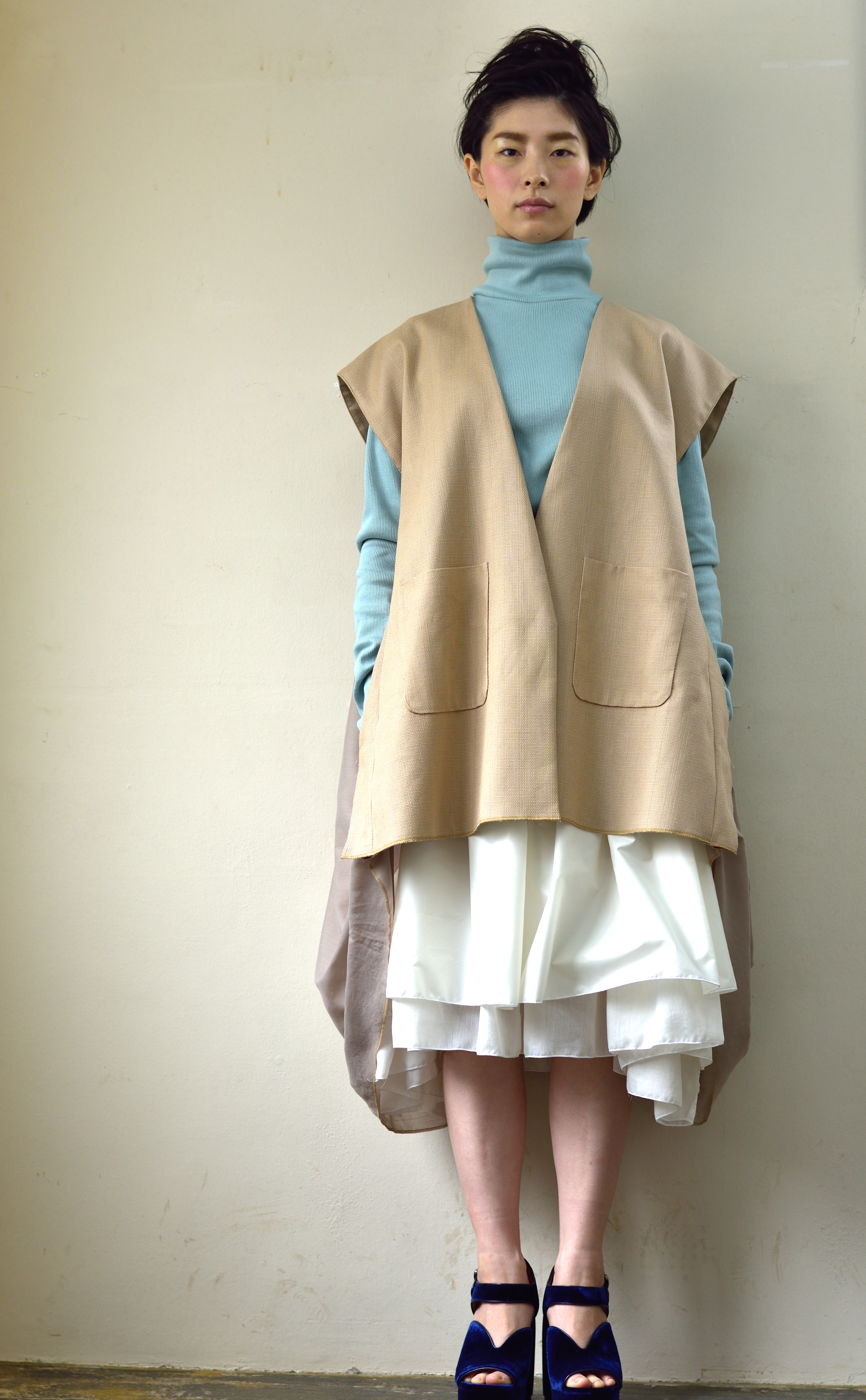 tops/vest/skirt