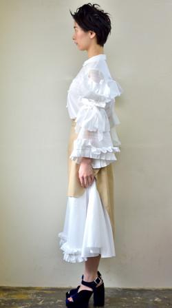 blouse/skirt