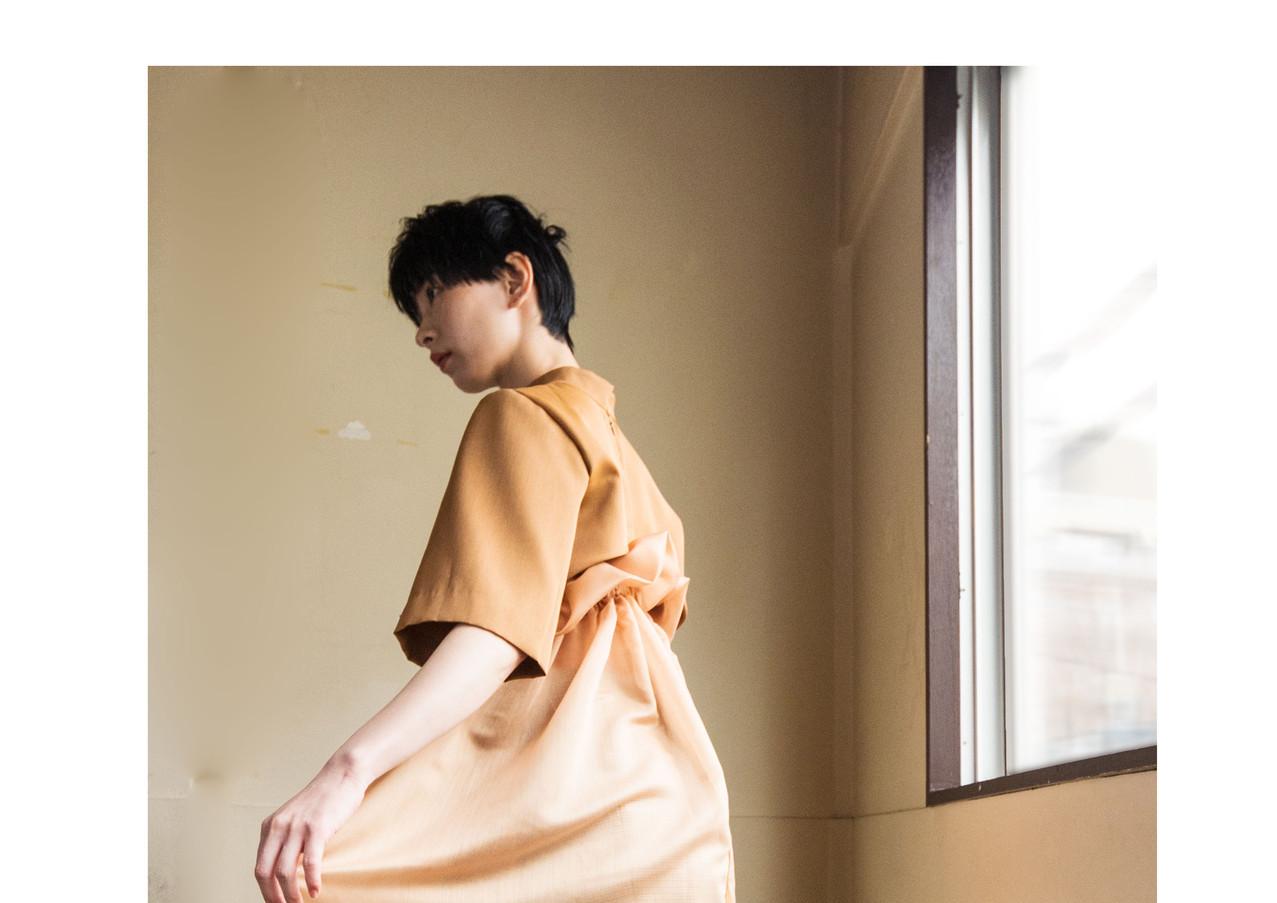 aero satin dress