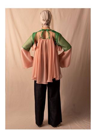 sleeve / camisole / pants