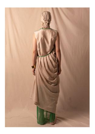 drape dress