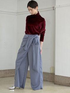 velvet cutsew/pants
