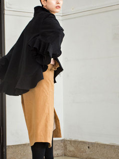 jacket/velvet cutsew/skirt