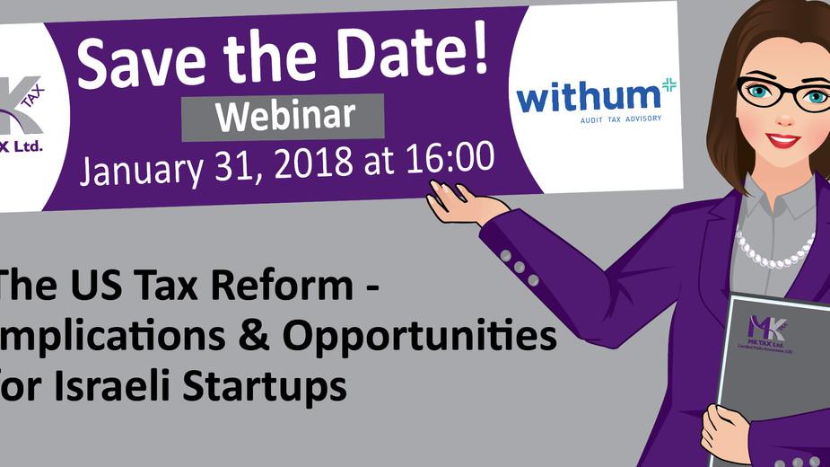 U.S. Tax Reform Webinar - Recording