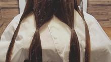 髪の毛で出来るボランティア☆