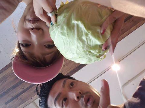 平塚の美容室コハクで野菜販売しております☆