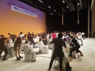 台風24号が過ぎ去った月曜日に都内で行われたコンテストの審査員をしてきました。