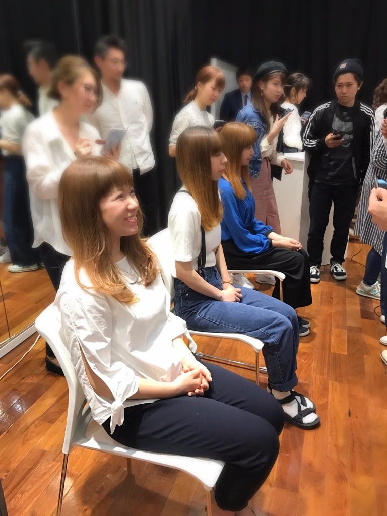 平塚美容 コハク ダブルカラー