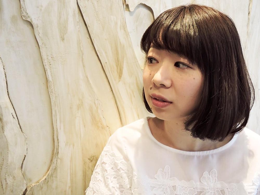 平塚美容室 重めボブ 加藤ヒロナ