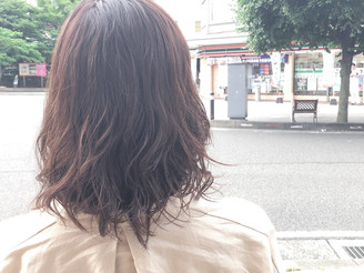 白髪染めでも明るくカラー!
