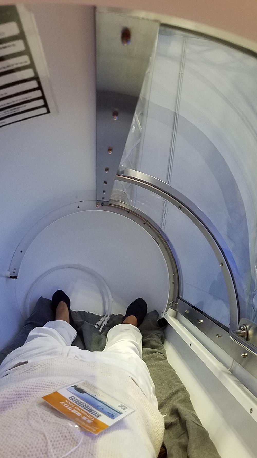 ビューティーワールドジャパンで酸素・水素カプセルで体の中からきれいに。