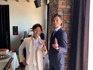 友人の結婚式へ♪