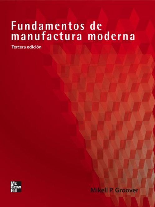 Fundamentos de manufactura moderna
