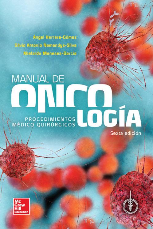 MANUAL DE ONCOLOGIA Y PROCEDIMIENTOS MEDICO QUIRURGICOS