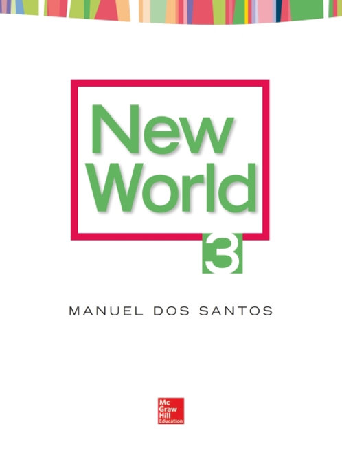 New World. Student Book 3.