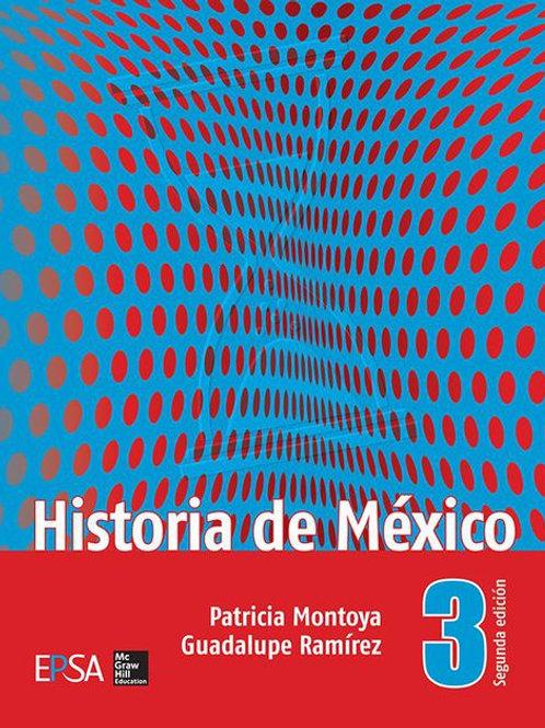 Historia de México 3o.