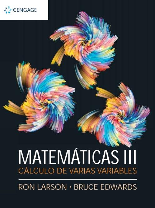 Matemáticas III. CALCULO VARIAS VARIABLES