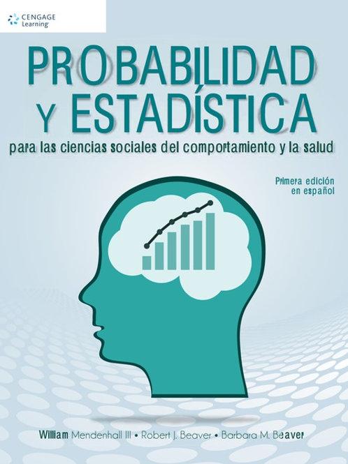 Probabilidad y estadística para las ciencias sociales y de la salud
