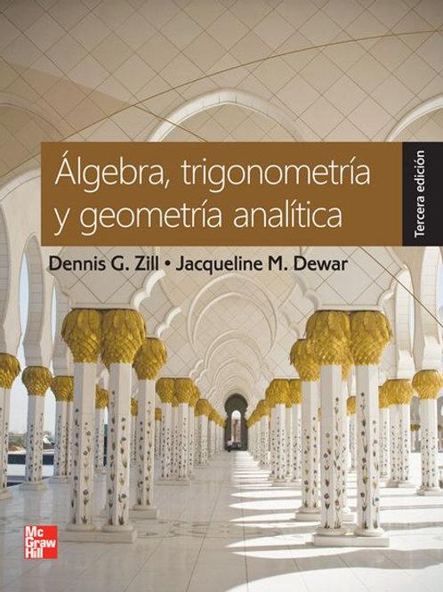 Álgebra, trigonometría y geometría analítica