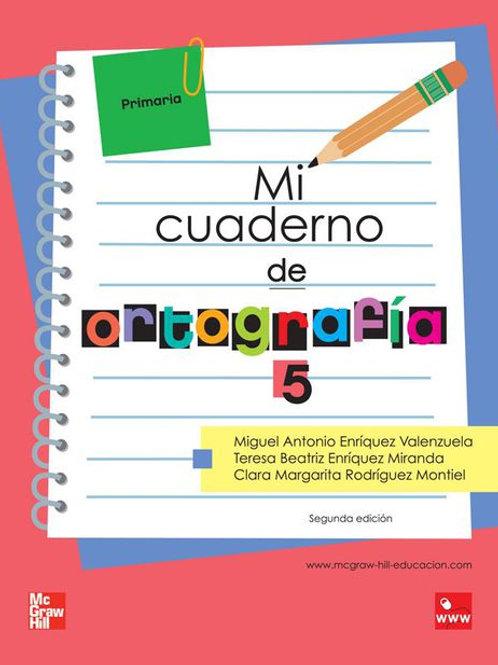 Mi cuaderno de ortografía 5