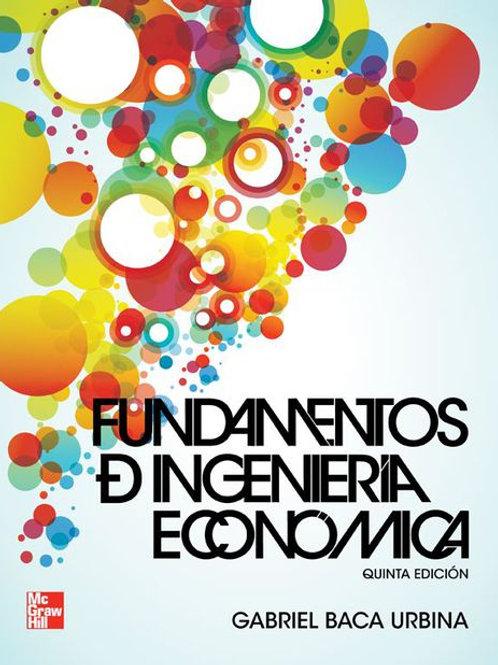 Fundamentos de ingeniería económica