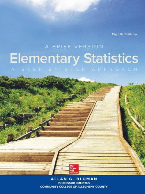 ISE ELEMENTARY STATISTICS: A BRIEF VERSION