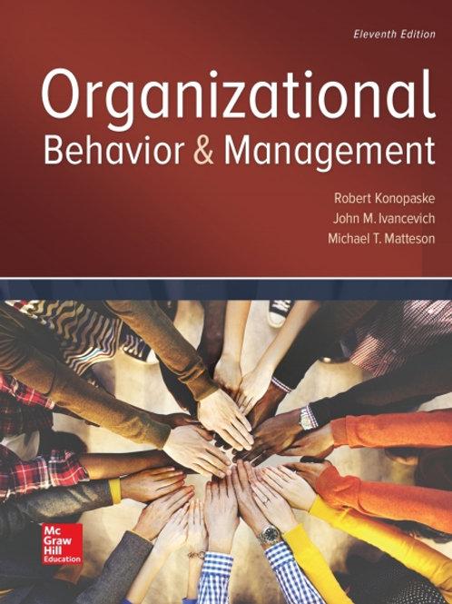 ISE - Organizational Behavior and Management