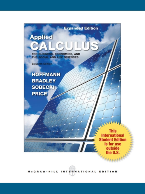 ISE Applied Calculus for Business, Economics, and the Social Life and Sciences