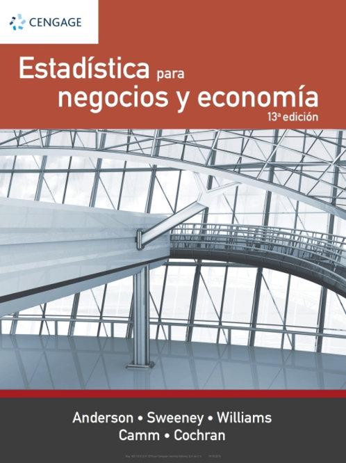 Estadística para negocios y economía