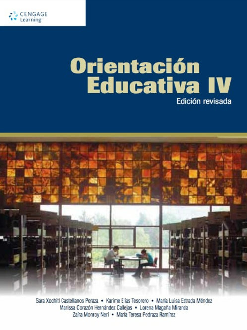 Orientación educativa IV