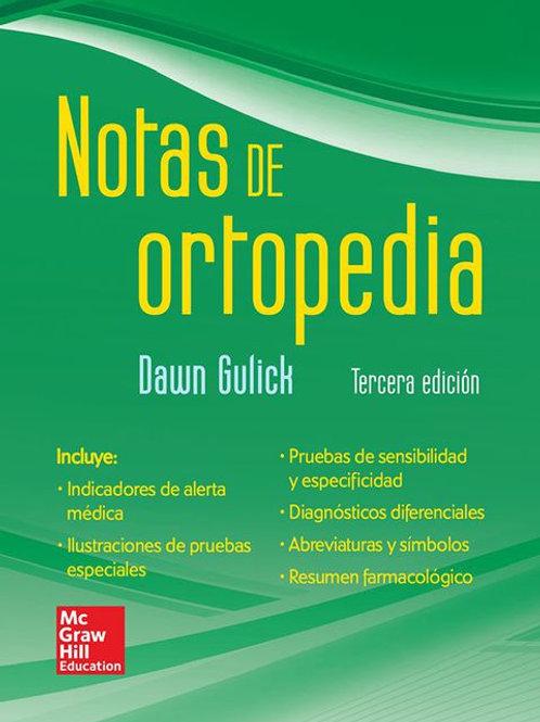 Notas de ortopedia