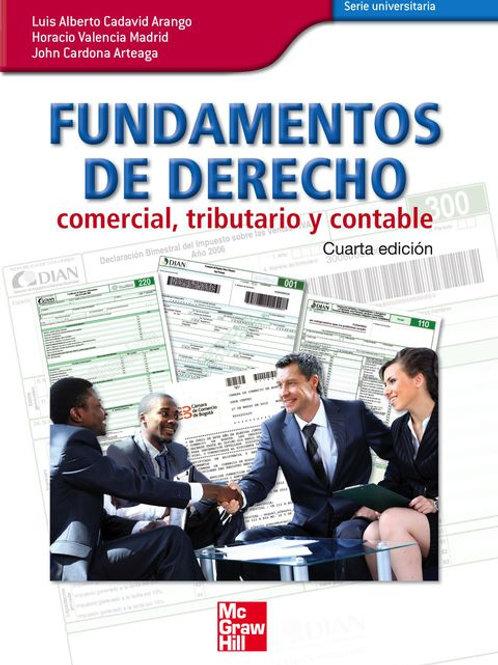Fundamentos de derecho comercial, tributario y contable