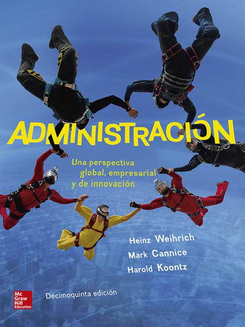 Administración: una perspectiva global, empresarial y de innovación