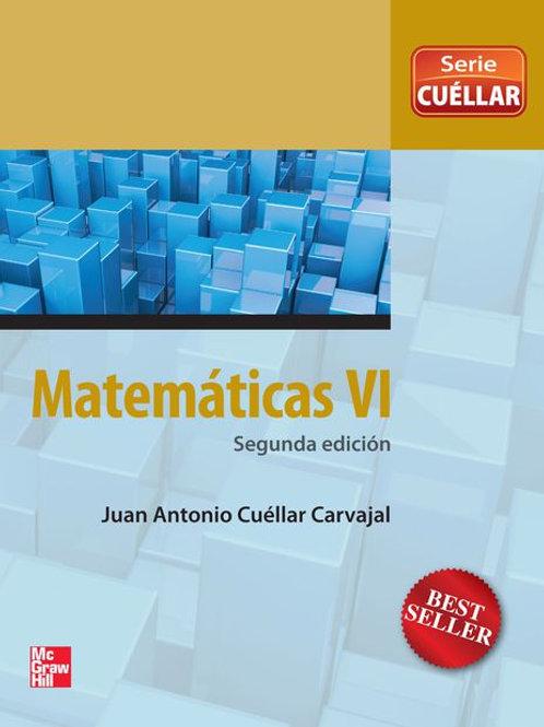 Matemáticas VI. Enfoque por competencias