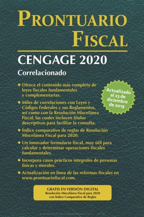 Prontuario Fiscal Cengage 2020