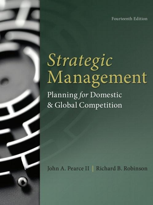 Strategic management : formulation, implementation, and control
