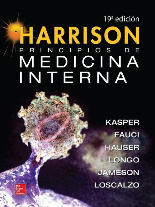 Harrison. Principios de medicina interna. Vol. 1 y 2