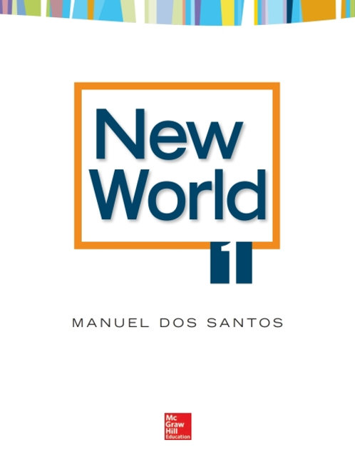 New World. Student Book 1.